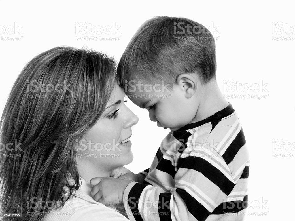 Love you mom royaltyfri bildbanksbilder