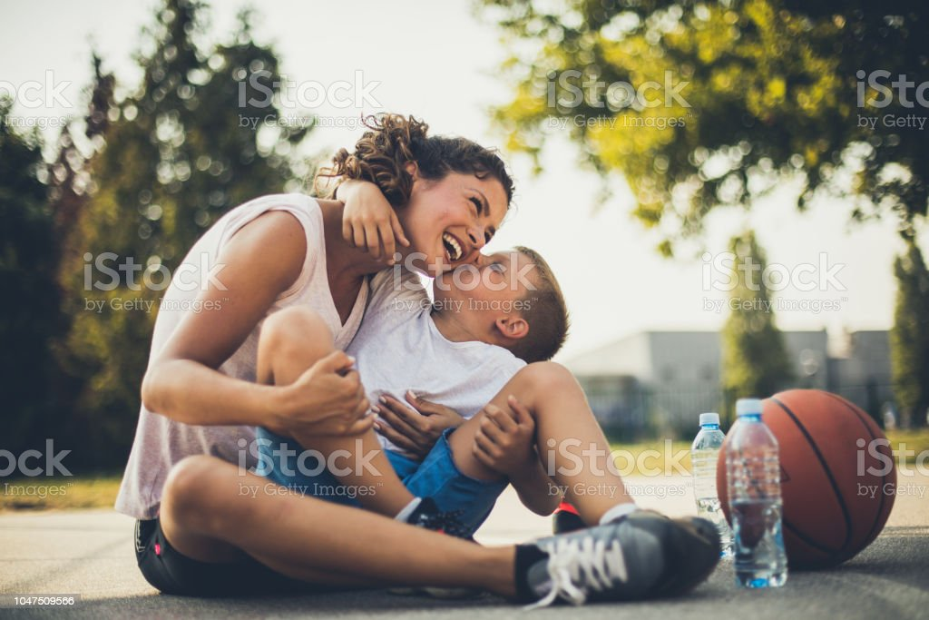 I love you mommy. stock photo