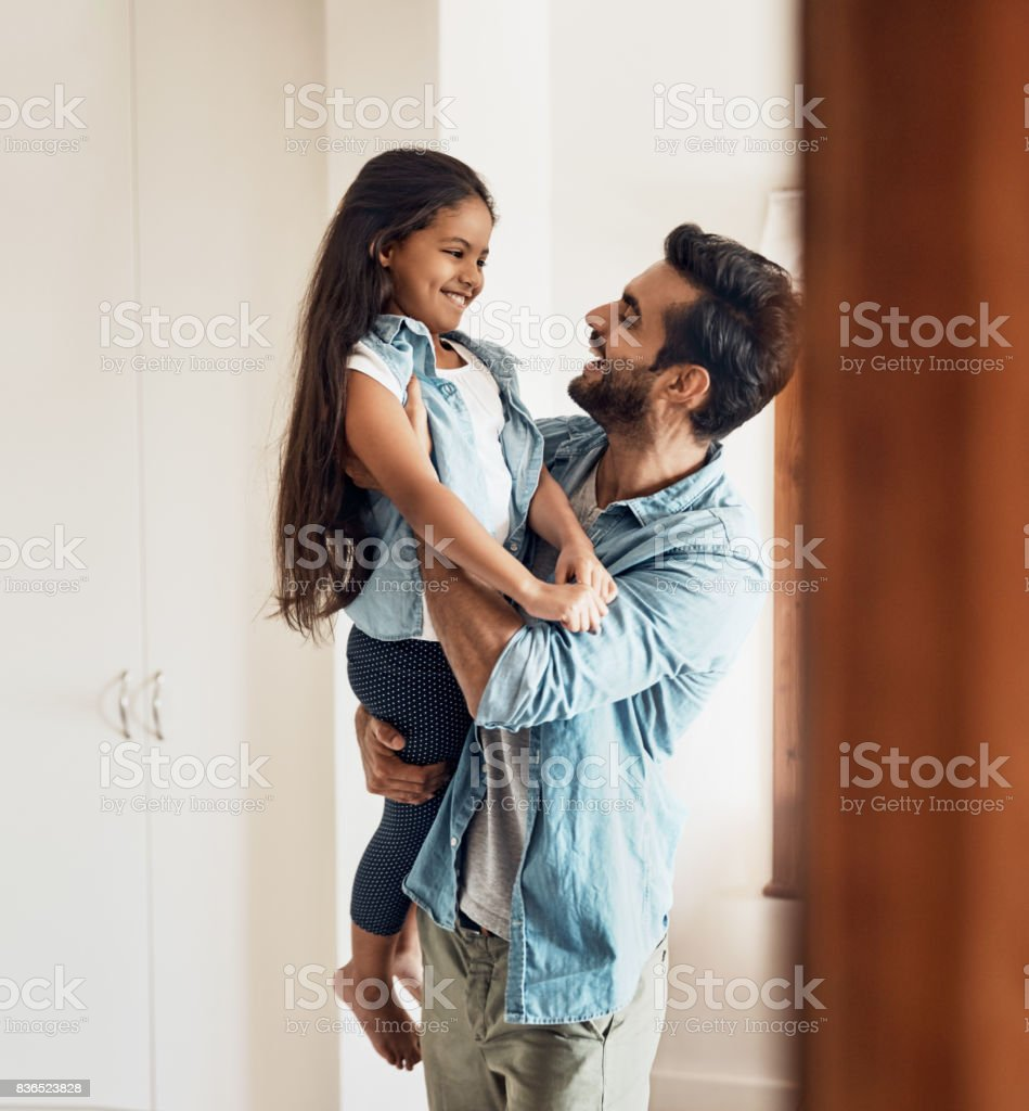 I love you my sweetheart! stock photo