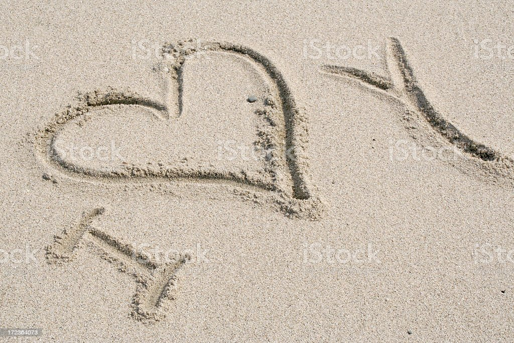 I love you # 2 royalty-free stock photo