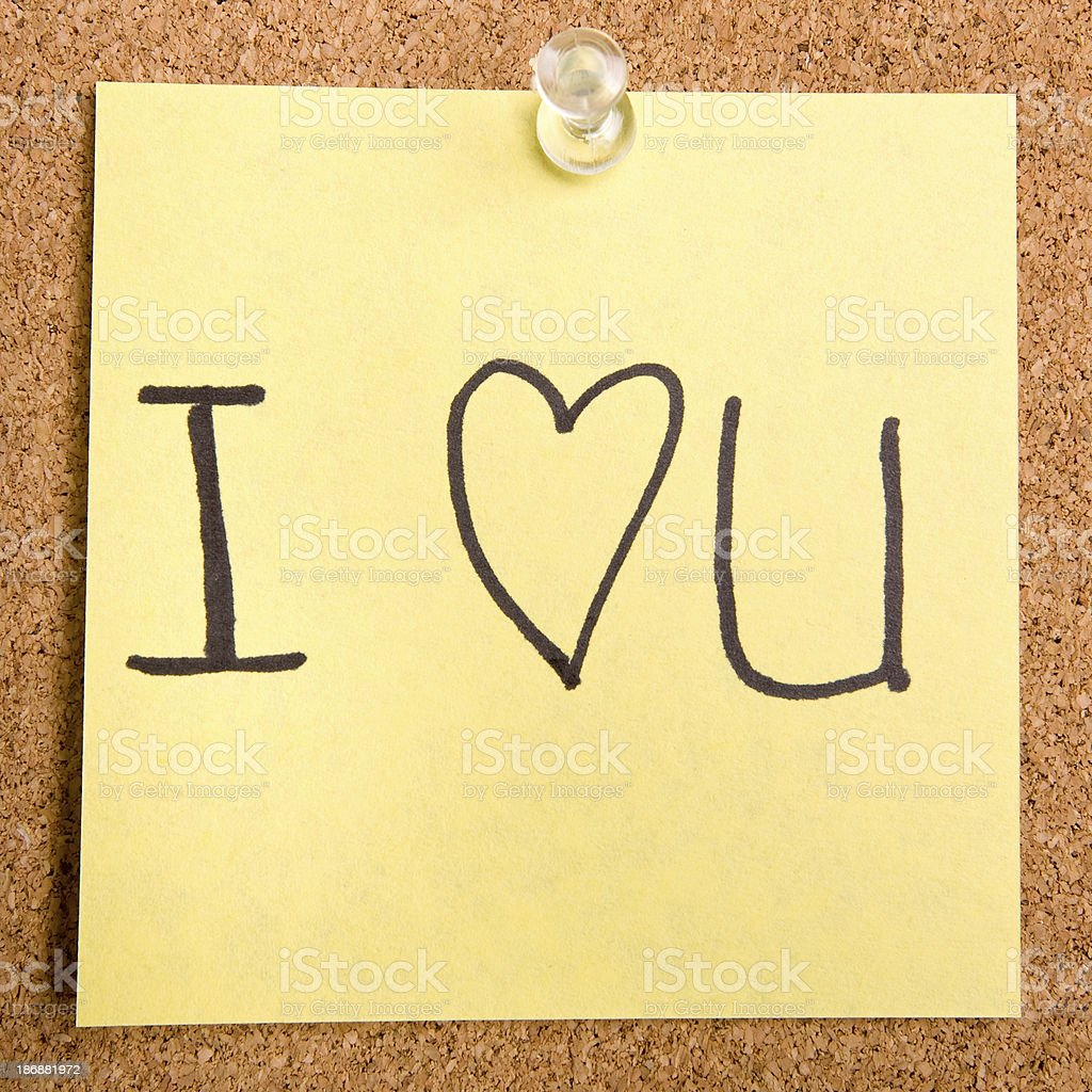 I love you! royalty-free stock photo