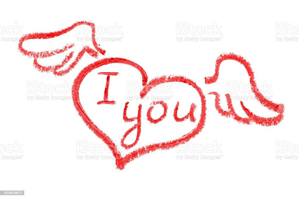 I Love You Imágenes De Stock I Love You Fotos De Stock: Fotografía De I Love You Pintalabios Dibujo Y Más Banco
