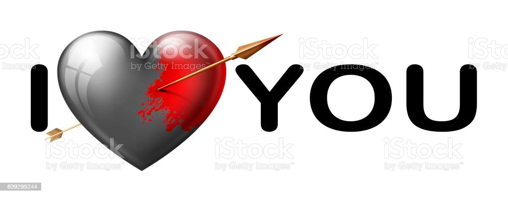 I Love You Stock Photo More Pictures Of Arrow Symbol Istock