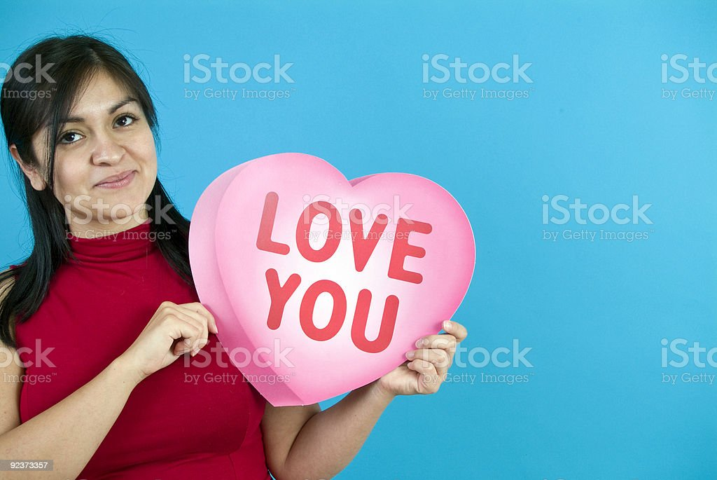 Love You royalty-free stock photo