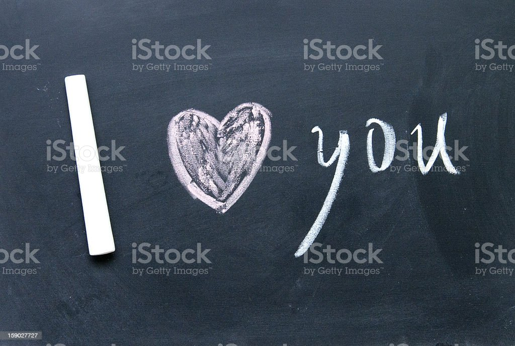 I love you sign royalty-free stock photo