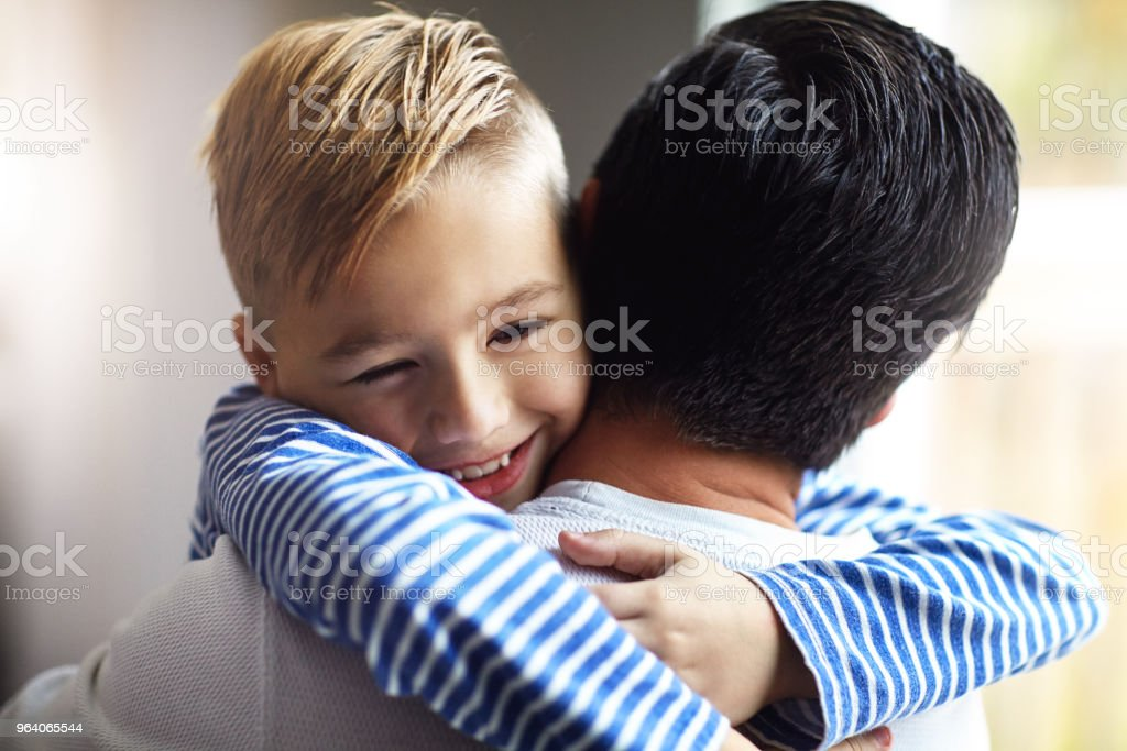 I love you tons, Dad - Royalty-free Adult Stock Photo