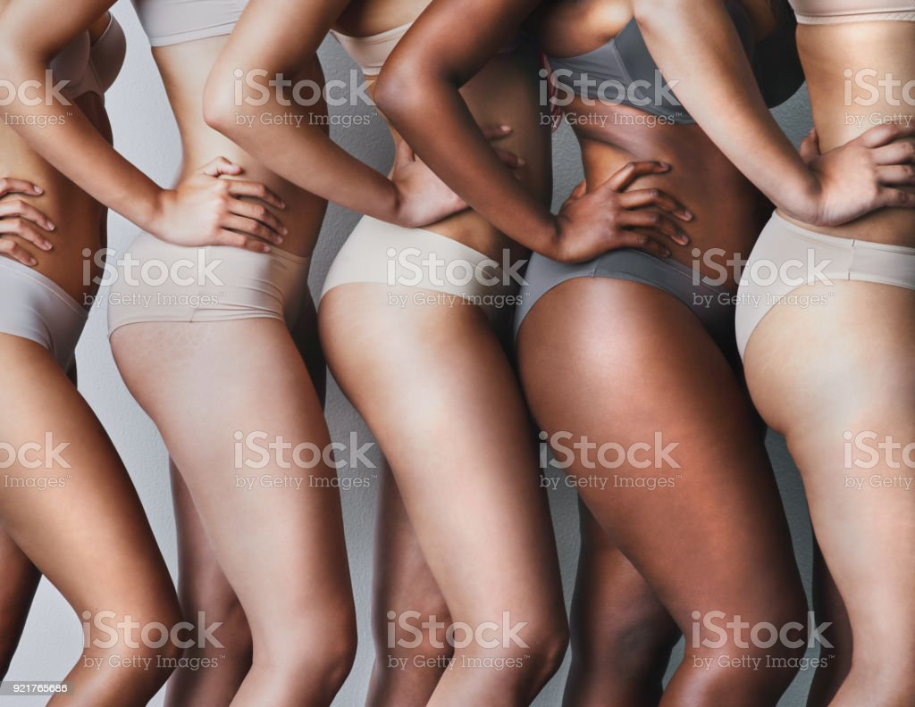 Love your skin, its the house you live in stock photo
