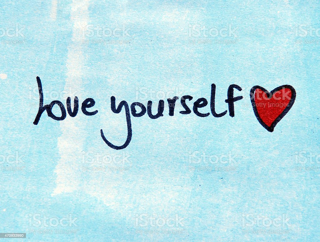 Love Yourself Stock Photo - Download Image Now - iStock