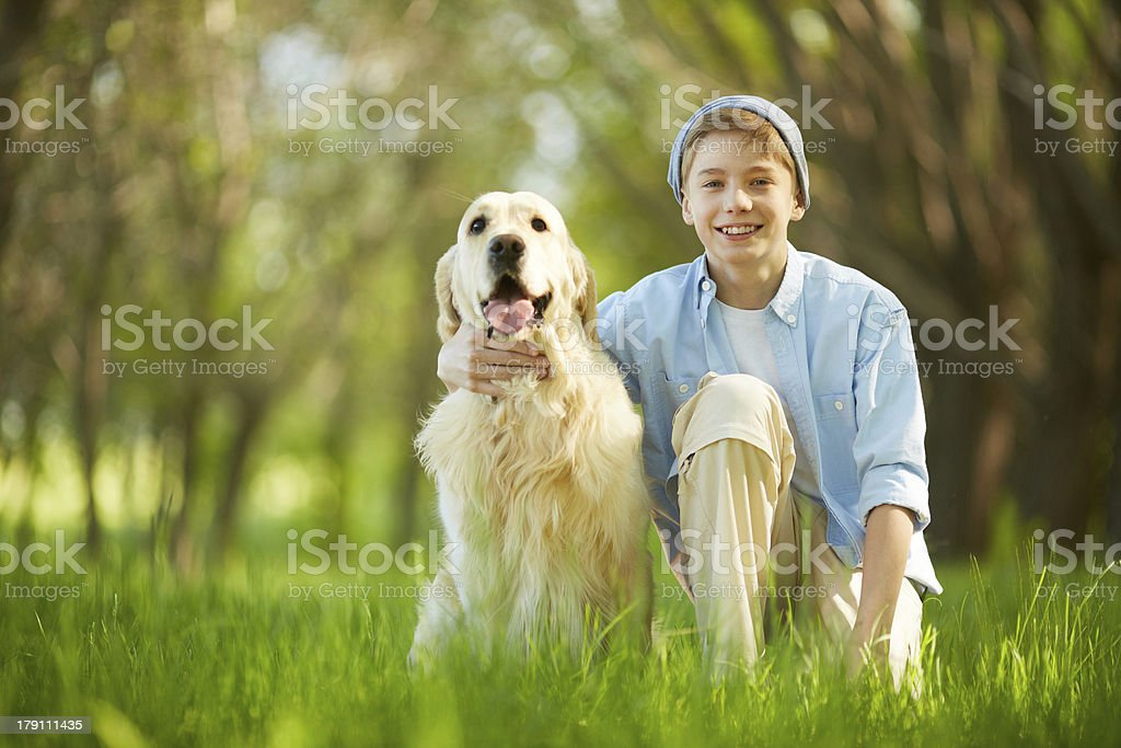 Loved friend royalty-free stock photo