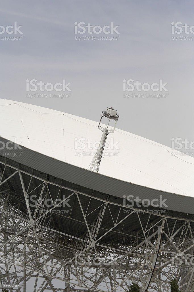 lovell radio telescope royalty-free stock photo