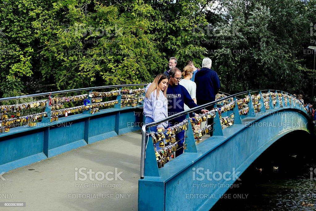 Lovelock bridge. stock photo