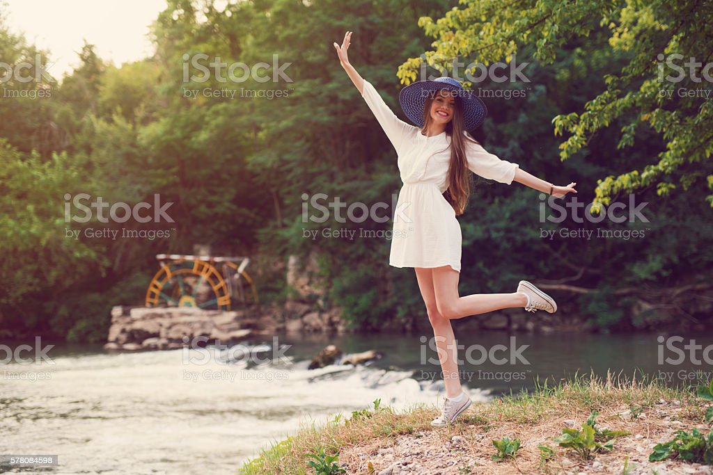 Lovely And Lively stock photo