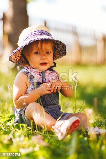 istock lovely baby girl 513320475