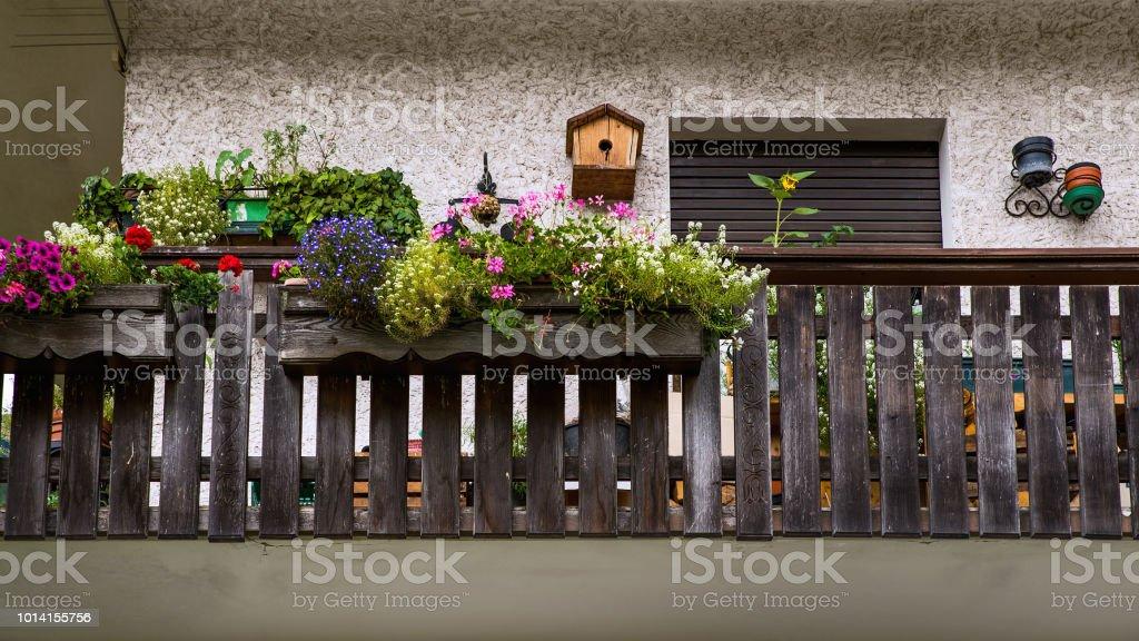Vogelhaus balkon