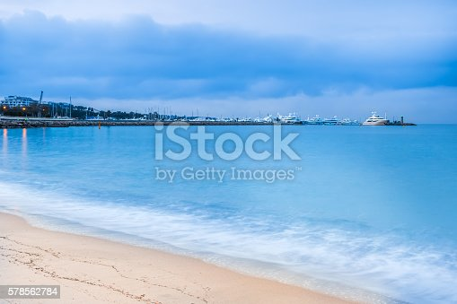 1030314738 istock photo Lovely beach in Cannes, France 578562784