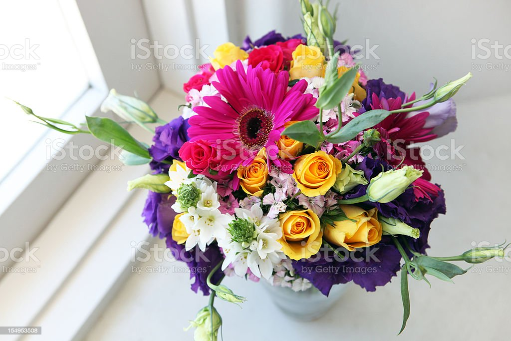 Lovely bouquet royalty-free stock photo