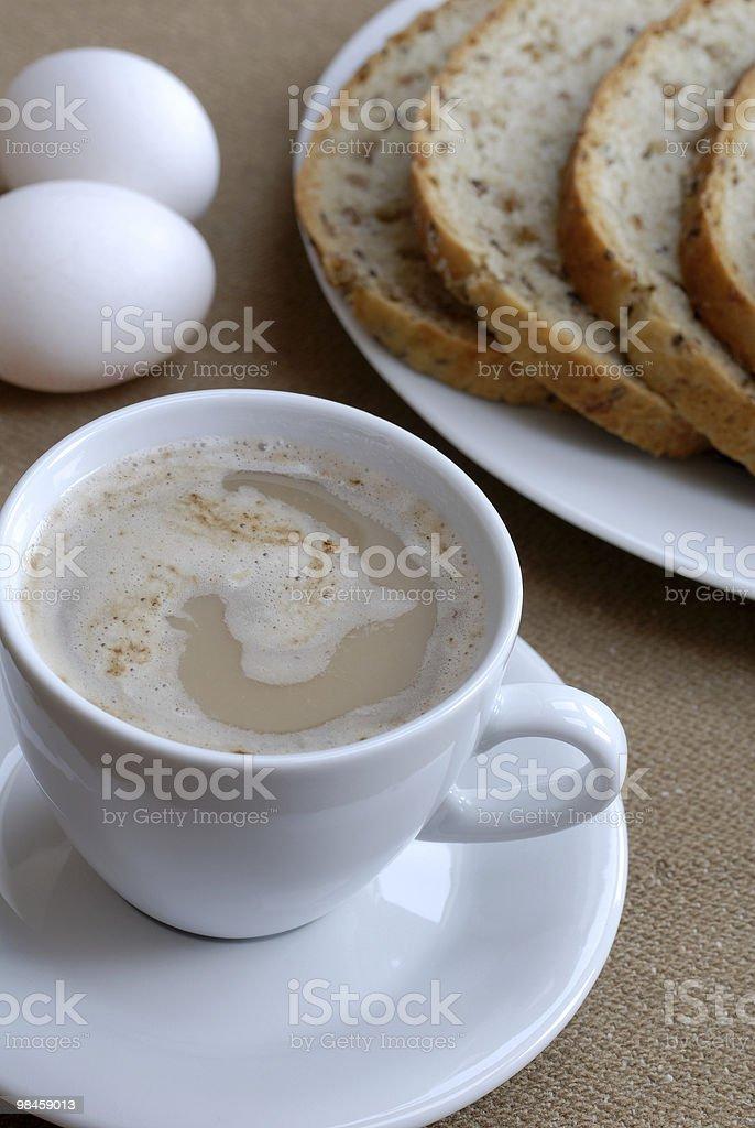Lovely breakfast royalty-free stock photo