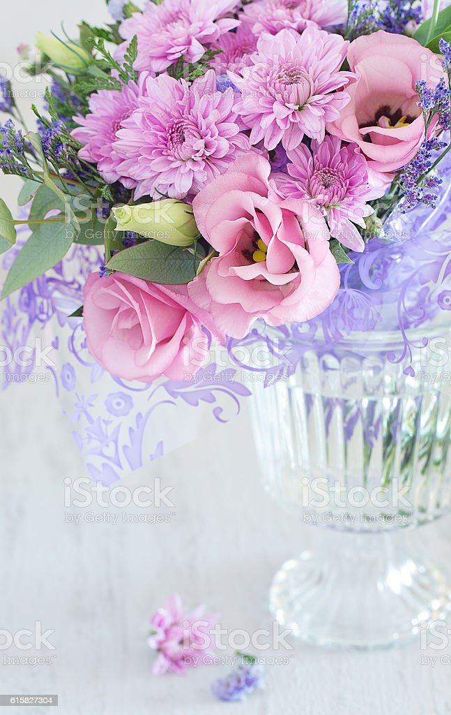 Lovely bunch of flowers Lizenzfreies stock-foto