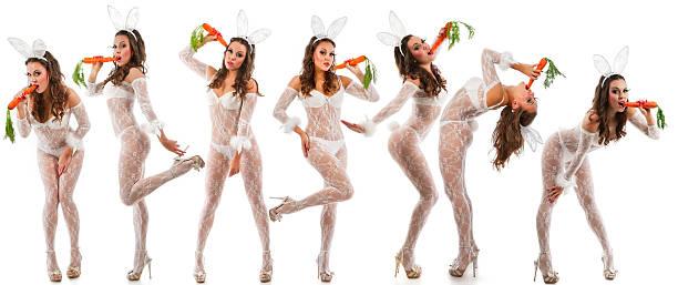 Adorable de conejos - foto de stock