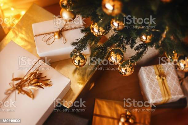 Lovely christmas tree with beautifuly packed presents boxes under it picture id880449800?b=1&k=6&m=880449800&s=612x612&h=  bmhirnuyu8oj2wahab0 24erckghawp6he7nplzky=