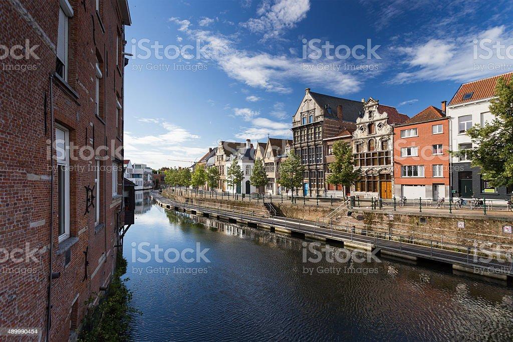 Charmante ville en Belgique - Photo