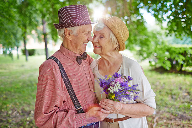 lovely couple - love stock photos and pictures