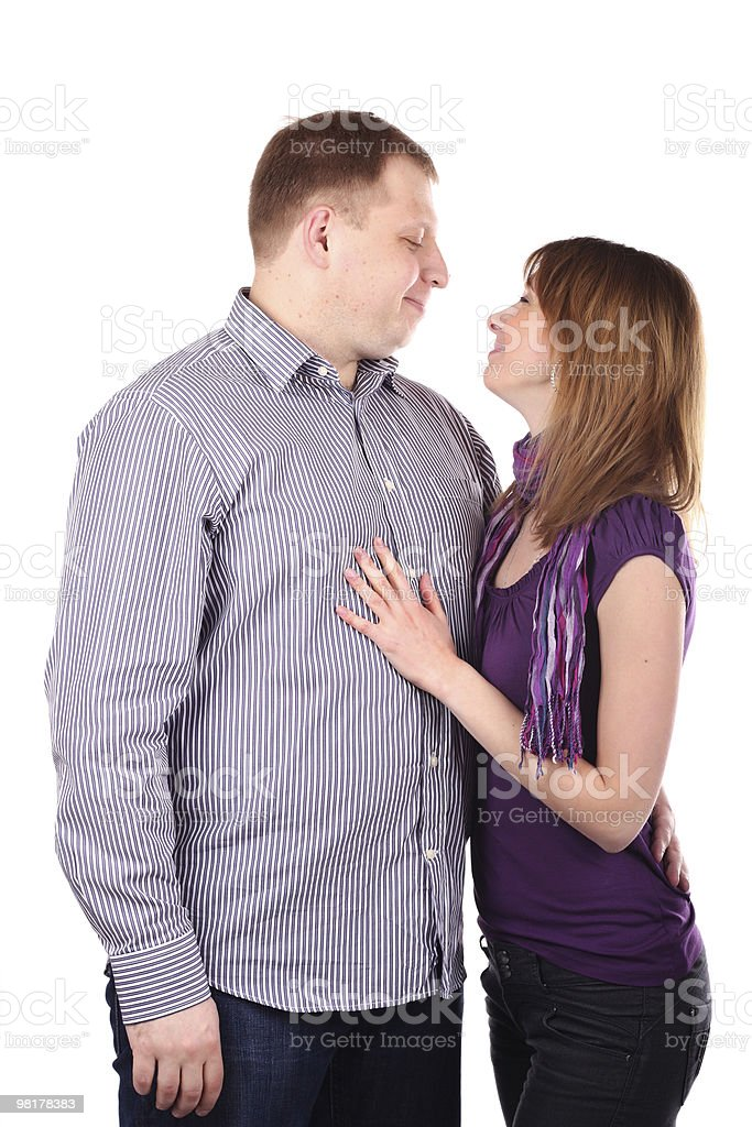 Lovely couple royalty-free stock photo