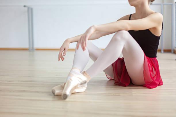 Schöne Tänzerin ruht – Foto