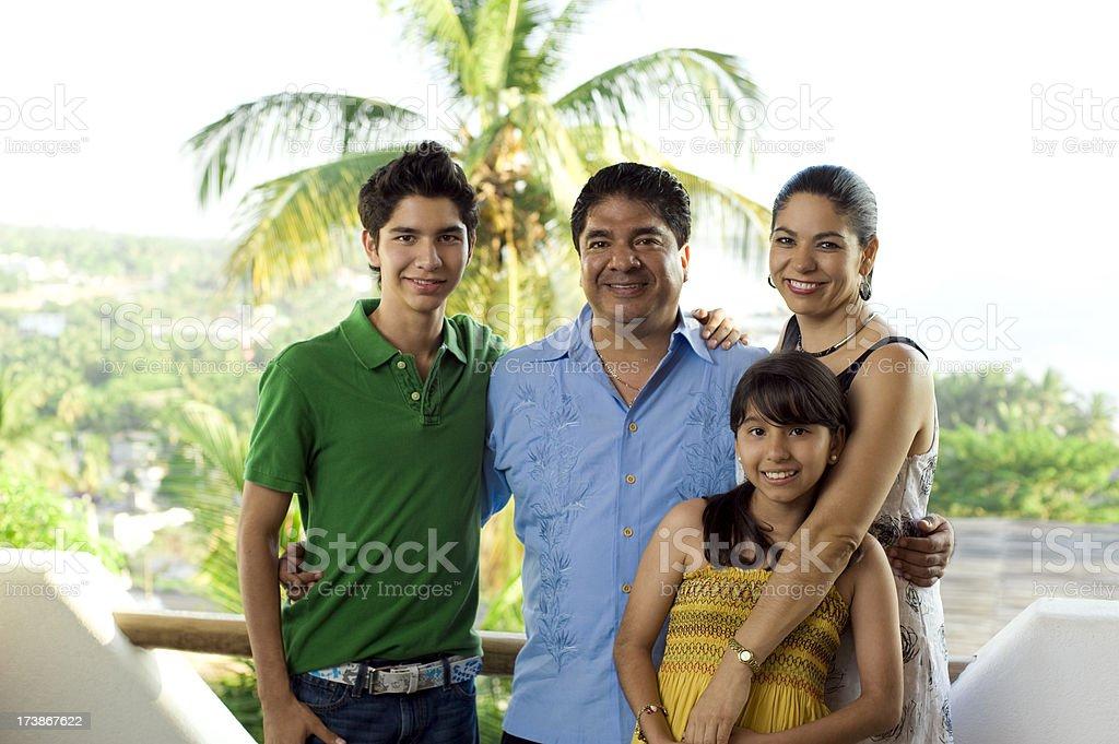 Lovely family royalty-free stock photo