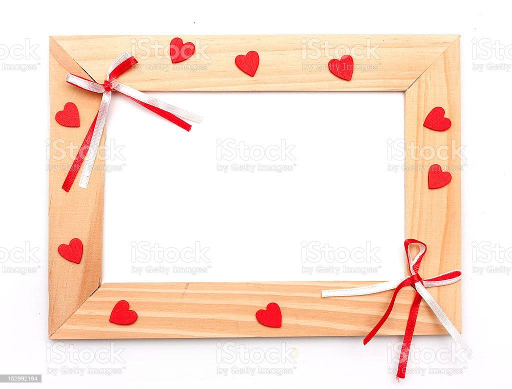 lovely heart frame for your design royalty-free stock photo