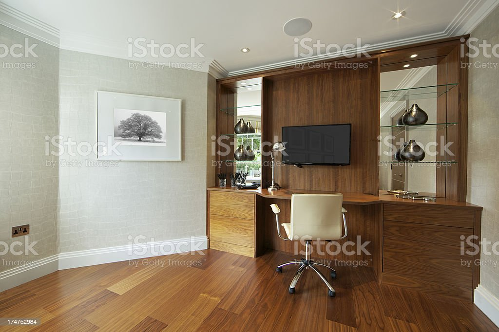 lovely home office royalty-free stock photo