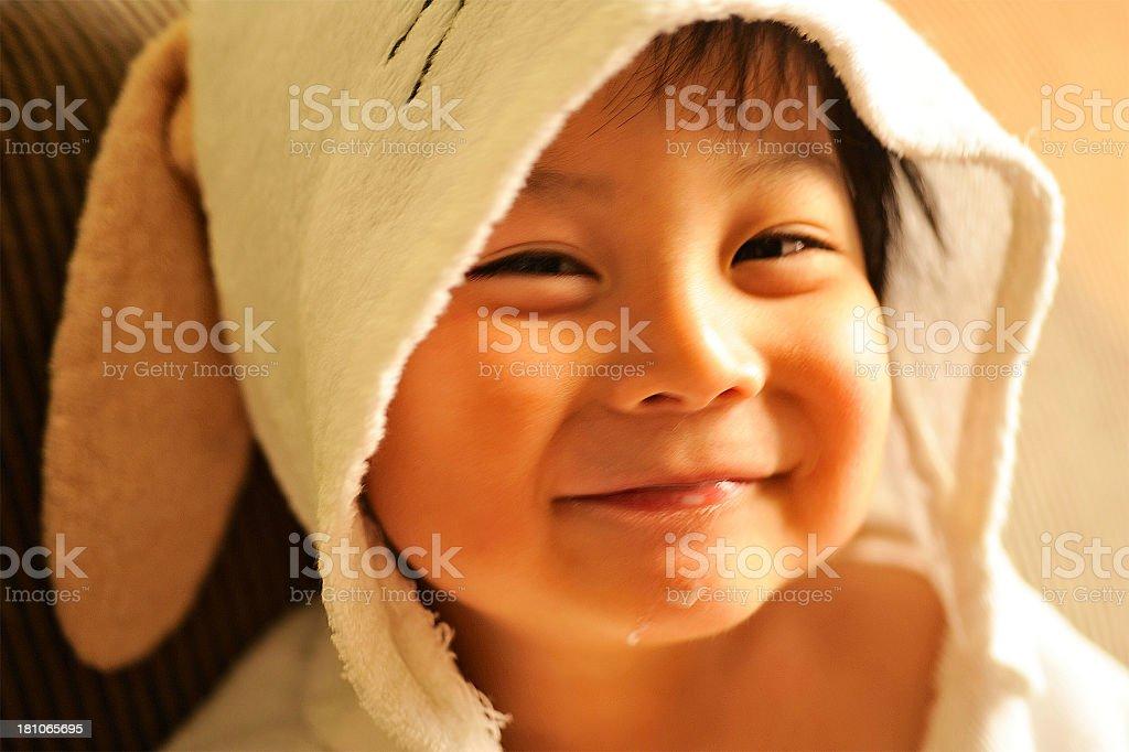 lovely kid royalty-free stock photo