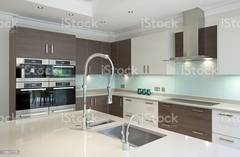 lovely kitchen royalty-free stock photo