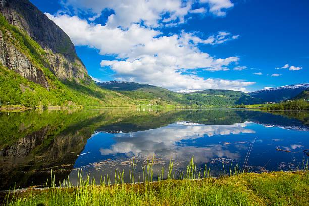 Schöner See in Norwegen – Foto