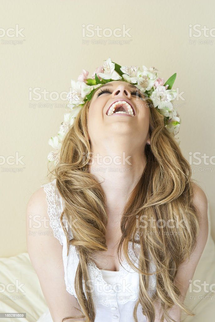 Lovely Laughter royalty-free stock photo