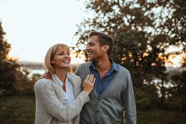 Lovely moments stock photo