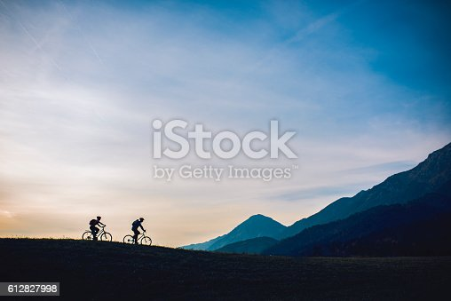 istock Lovely nature is our relaxation 612827998