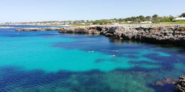 Rincón encantador en Menorca - foto de stock