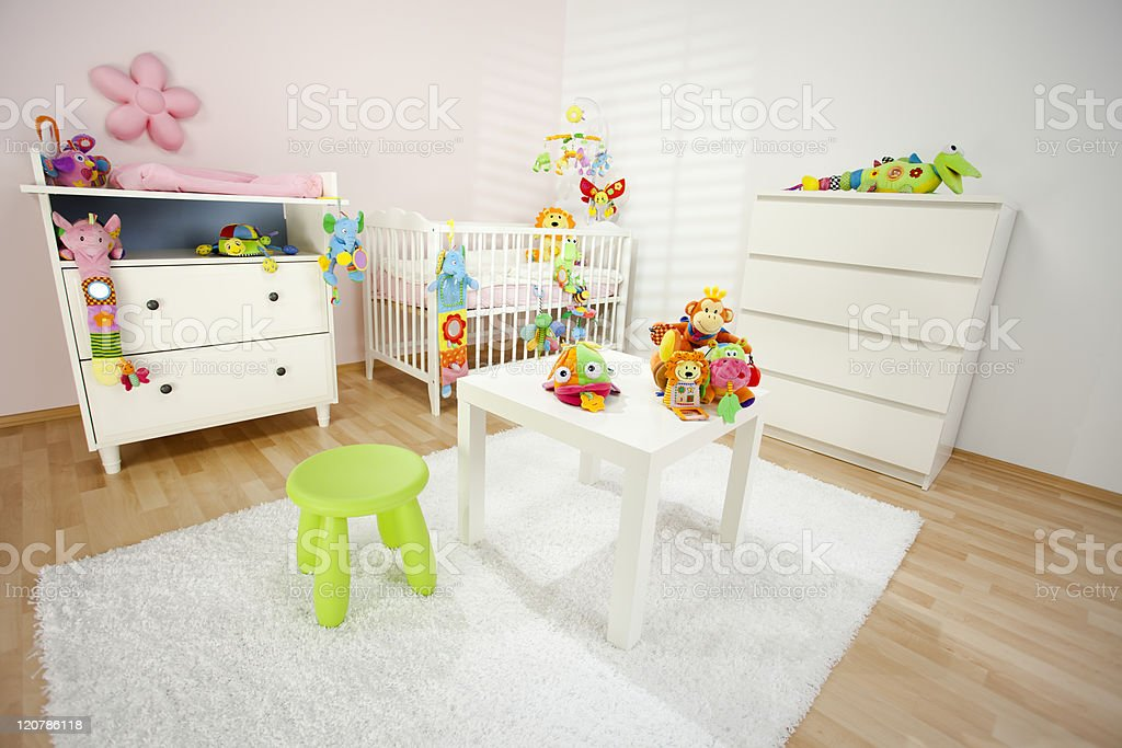 Lovely Nursery Room royalty-free stock photo