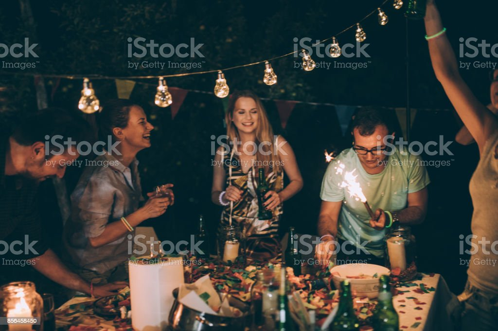 Lovely party stock photo