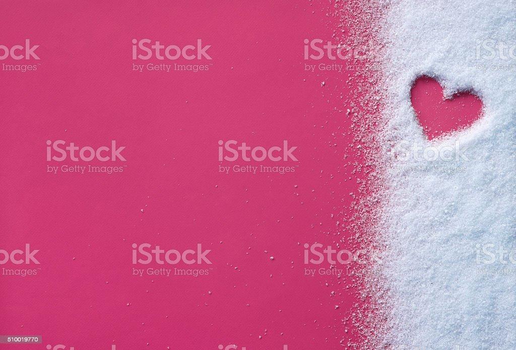 Lovely romantic heart stock photo