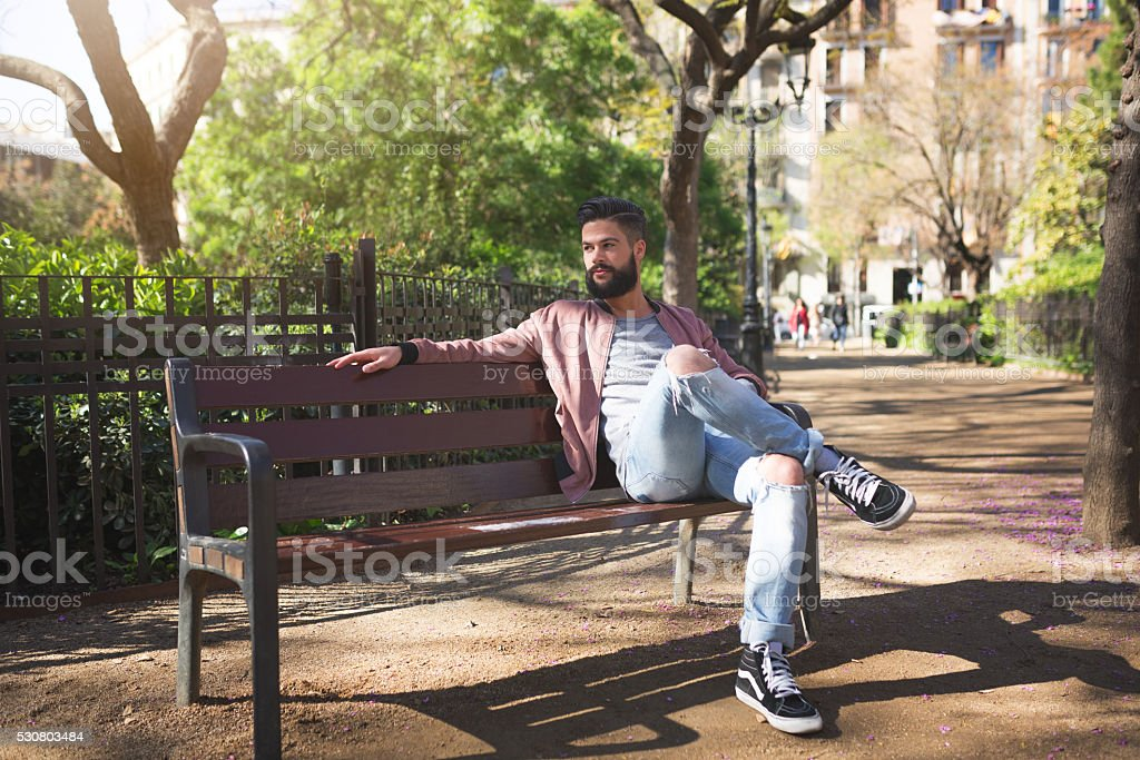 Lovely sunny afternoon stock photo