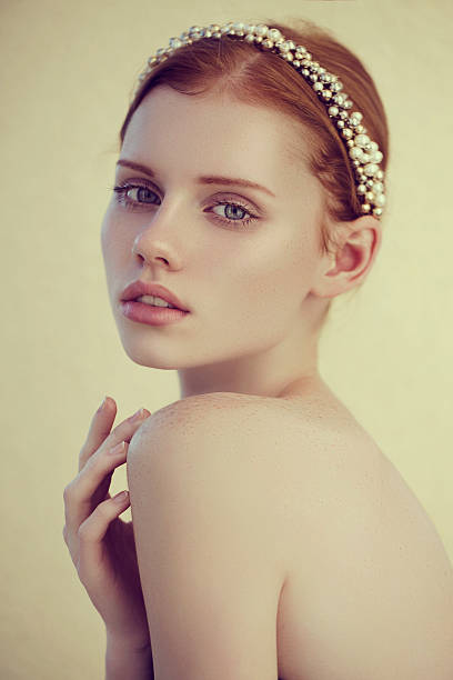 lovely woman - diadem stock pictures, royalty-free photos & images