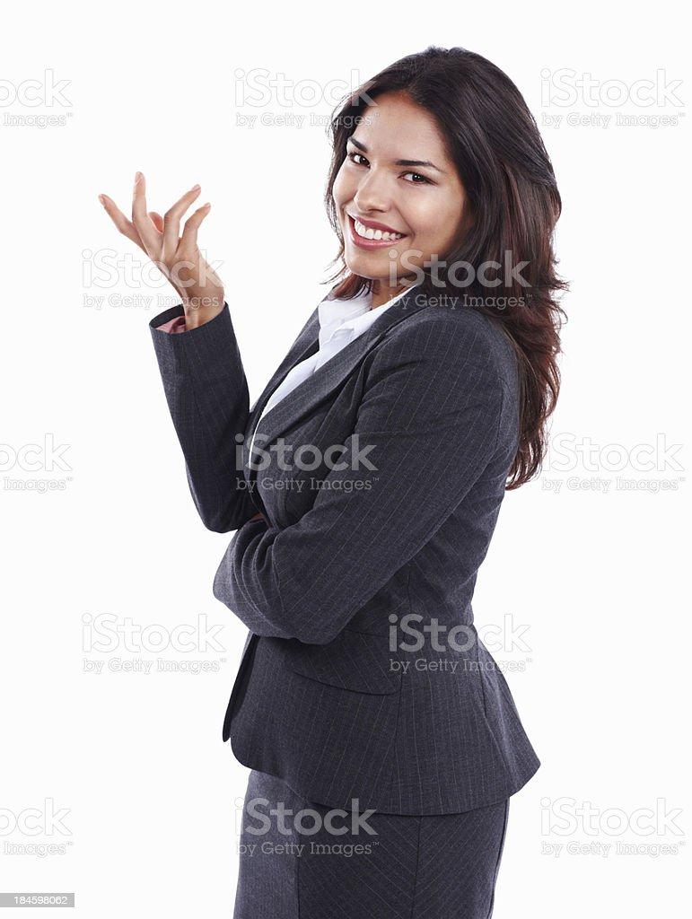 Schöne young business woman – Foto