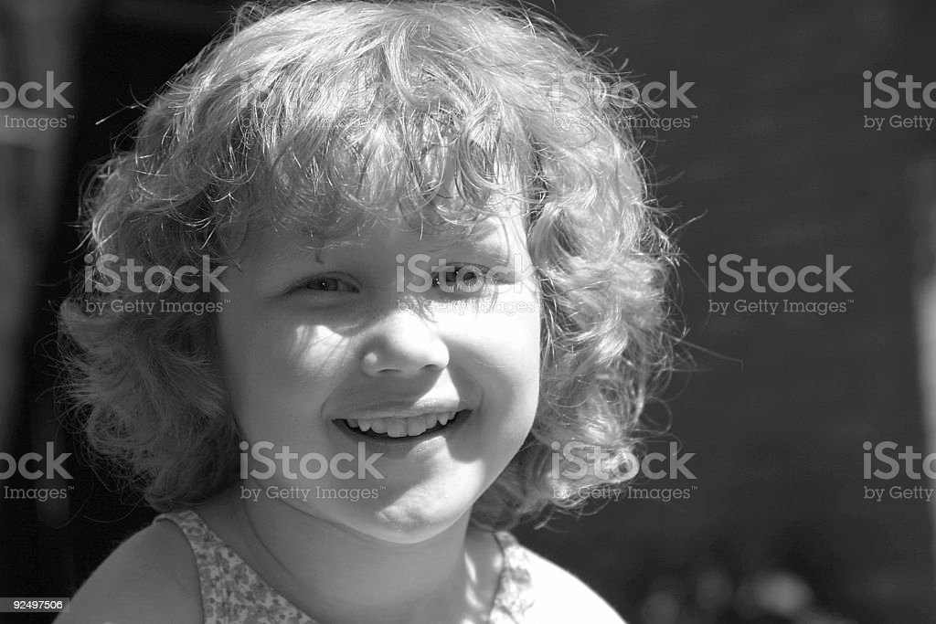 Lovely young girl laughing royalty-free stock photo