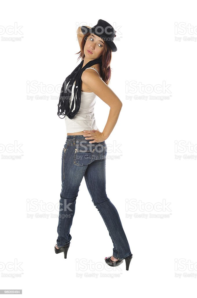 lovely young teen royalty-free stock photo