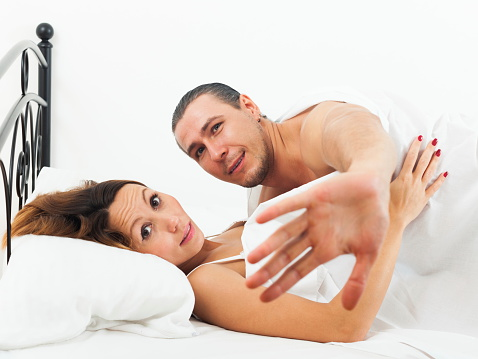Lovers Caught During Adultery Stock Photo - Download Image Now
