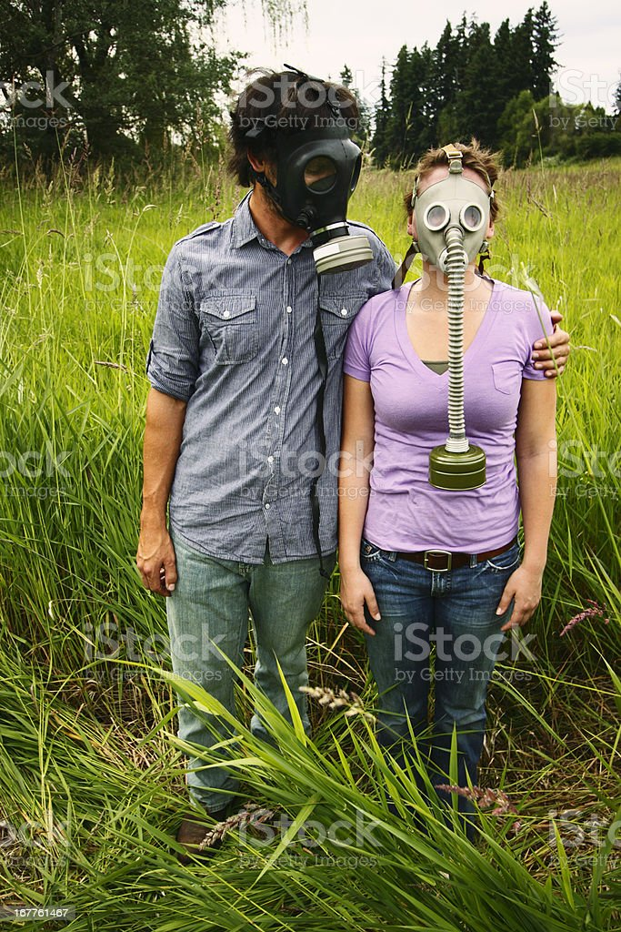Lovers in a Dangerous Time royalty-free stock photo