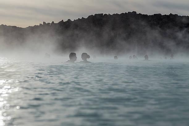 Liebhaber, die bei jeder anderen in der Blue Lagoon Island – Foto