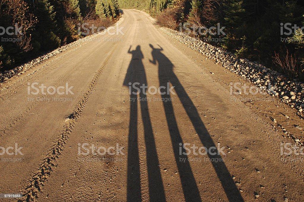Lovers shades royalty-free stock photo